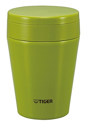 Tiger MCC-C038-GA Stainless Steel Vacuum Insulated Soup Cup, 12-Ounce, Olive Green (Tiger Food compare prices)