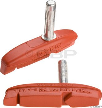 Buy Low Price Kool Stop Claw 2 Bicycle Brake Shoes (Cantilever, Salmon) (KS-EC2SA)