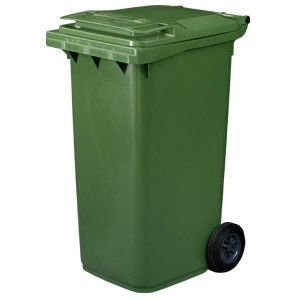Wheelie Bin, Two Wheeled, 240 litre, Green