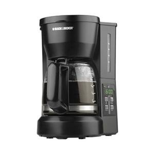Black And Decker Coffee Maker Not Heating : Spacemaker Coffee Pot: Black & Decker DCM675BF 5-Cup Drip Coffee Programmable Maker with ...