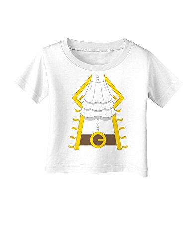 Pirate Captain Costume Gold Infant T-Shirt