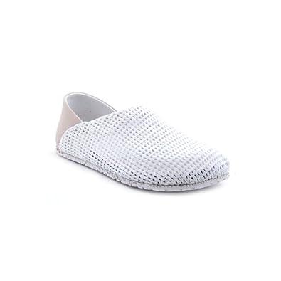 OTZ Shoes Unisex OTZ300GMS Linen Slip-On, Palladium Bianco, 36 EU (6 M US Women)