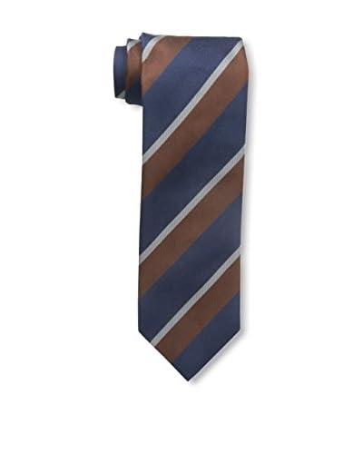 Ermenegildo Zegna Men's Striped Tie, Navy