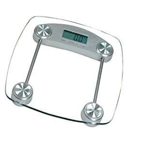 Mercury Electronic Glass Bathroom Scale
