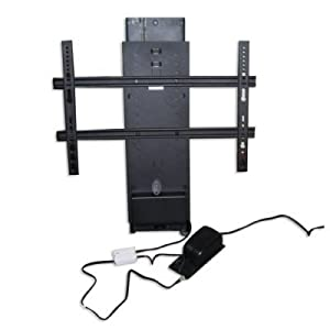 Whisper ride flat panel tv lift electronics for Motorized vertical tv lift