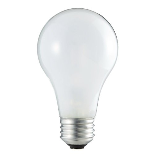 Philips 374835 60-Watt A19 Incandescent Light Bulb, Pack Of 4