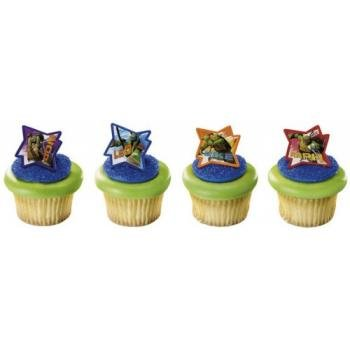 Teenage Mutant Ninja Turtles Cupcake Rings