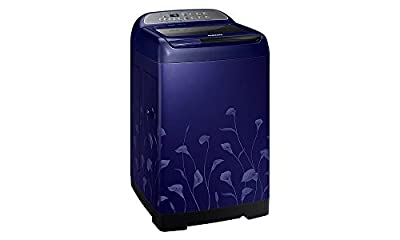 Samsung WA75H4020HL/TL Fully-automatic Top-loading Washing Machine (7.5 Kg, Lily Pattern Blue)