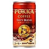 ポッカサッポロ ポッカコーヒー テイスティーブレンド 190g缶×30本入
