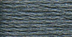 DMC Pearl Cotton Skeins Size 5 27.3 Yards Pewter Grey 115 5-317; 12 Items/Order
