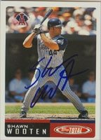 Shawn Wooten Anaheim Angels 2002 Topps Total Autographed Hand Signed Trading Card. by Hall+of+Fame+Memorabilia