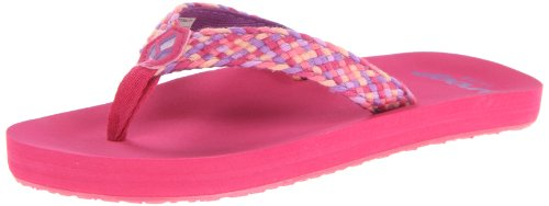 Reef Girls Little Mallory Sandals R5281HPU Hot Pink/Purple 2 UK Child, 19 EU