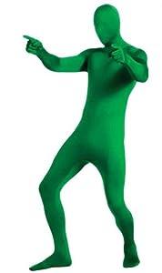 Green Second Skin Adult Suit, Medium