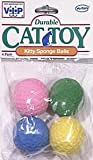 Vo-Toys Kitty Sponge Balls 4 pack Cat Toy