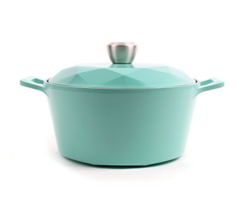 Neoflam Carat 4QT Ceramic Nonstick Stockpot with Oven-Safe Lid in Fresh Green (Ovensafe Cookware compare prices)