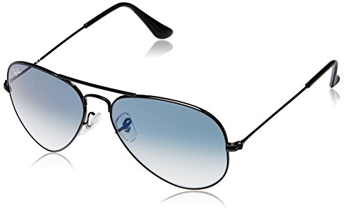 Ray-Ban Aviator Sunglasses (Black) (RB3025|00253F55)