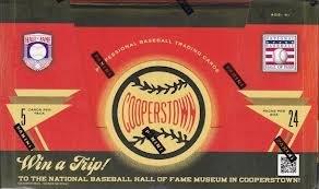 2012 Panini Cooperstown Baseball Hobby Box