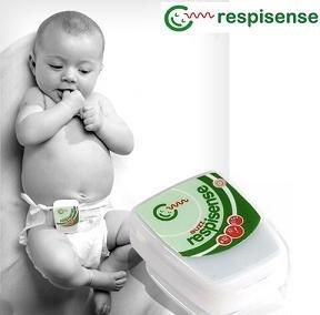 Amazon Com Respisense Buzz Infant Breathing Movement