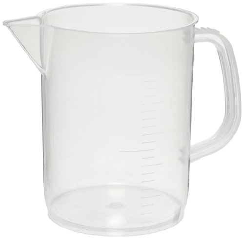 American Educational Polypropylene 500mL Measuring Jug with Handle (Bundle of 5)