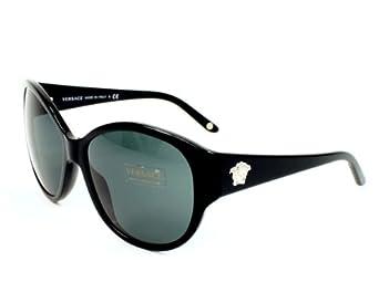 9d473afee7f Versace Sunglasses VE 4208 GB187 Acetate plastic Black Grey  www. lesbauxdeprovence.com Clothing