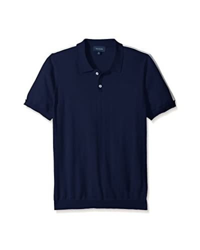 Thirty Five Kent Men's Brushed Cotton Short Sleeve Polo