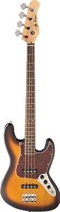 Jay Turser Bass Guitars Jtb-402-tsb 4-string Bass Guitar, Tobacco Sunburst