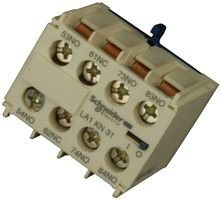 Schneider electric la1kn31 contactor relay aux contact for Schneider motor starter selection guide