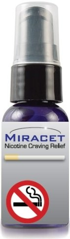 Miracet Stop Smoking System All-natural, homeopathic QUIT smoking Now! 1 Month Supply