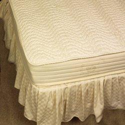 Pure Rest 100% Organic Cotton Mattress Pad Eastern King Flat