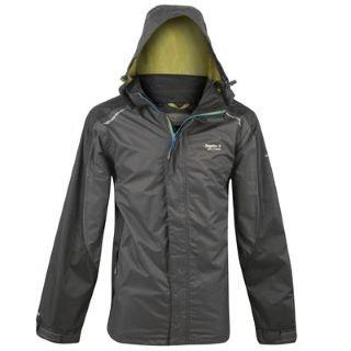 Regatta Padget Jacket Mens Ash/Black Small