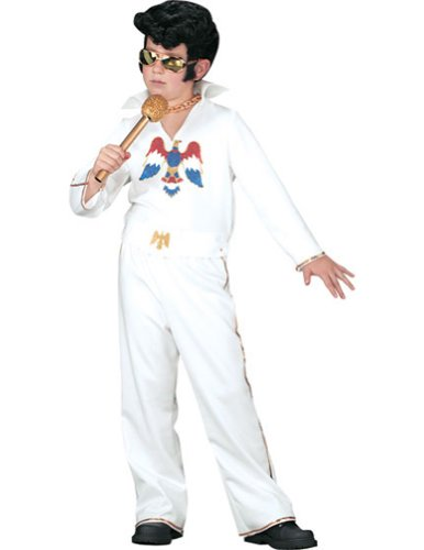 Elvis Child White Jumpsuit Sm Kids Boys Costume