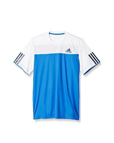 adidas T-Shirt Manica Corta CLUB Tee  [Blu/Bianco]