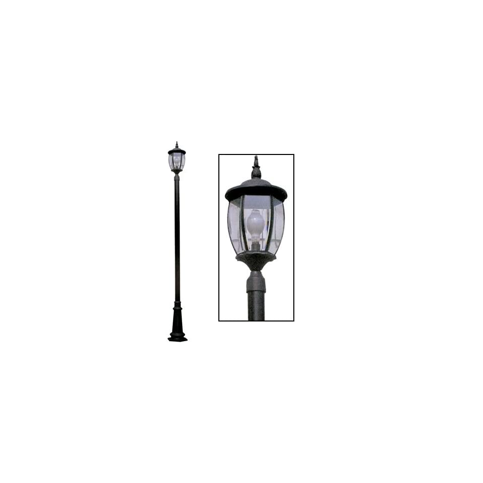 front yard lamp post wi yard light home improvement. Black Bedroom Furniture Sets. Home Design Ideas