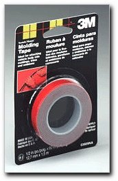 3M 03609 Scotch-Mount 1/2&quot; x 5 Molding Tape