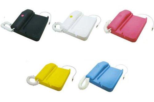 受話器付きで固定電話のように使える iPhone用 充電スタンド Phone×Phone ホワイト SP-2396