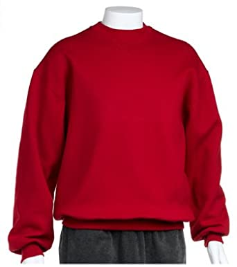 Russell athletic men 39 s big tall basic crew for Big and tall athletic shirts