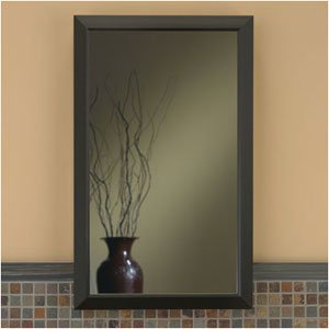 Broan-Nutone 625N244Bzc Hampton Recessed And Framed Medicine Cabinet, Oil-Rubbed Bronze front-606344