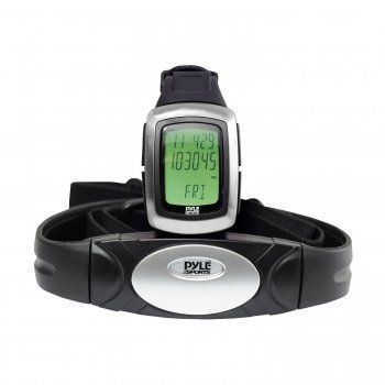 Cheap Exclusive Pyle PHRM26 Speed & Distance Heart Rate Watch W/ USB & 3D walking/Running Sensor By PYLE (MGDPHRM26)