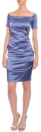 Nicole Miller Stretch Fit Fitted Cocktail Party Eve Dress