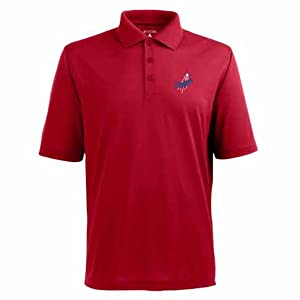 Los Angeles Dodgers Pique Xtra Lite Polo Shirt (Alternate Color) by Antigua