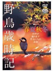 シンフォレストDVD 野鳥歳時記・春夏秋冬[2枚組] 四季が織り成す野鳥たちの素顔