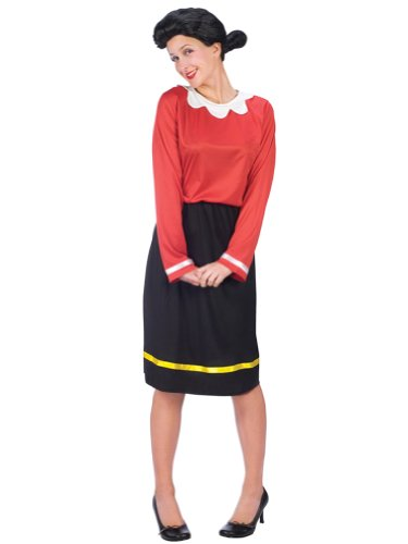 Olive Oyl Costume Popeye Costume Comic Book Couples Costume Idea Movie Costumes