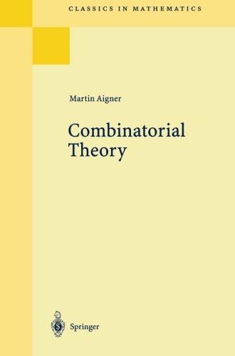 Combinatorial Theory (Classics In Mathematics)