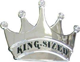 KING SIZED CROWN Belt Buckle