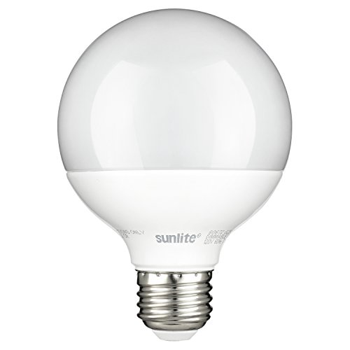 Sunlite G25/LED/7W/D/FR/ES/27K Led G25 Globe 7W  Base, 2700K Warm White Light