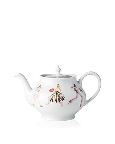 Haviland Mademoiselle S'Amuse Teapot