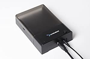 Sabrent USB 3.0 to SATA External Hard Drive Lay-Flat Docking Station for 2.5 or 3.5in HDD, SSD [Support UASP and 8TB] (EC-DFLT)