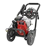 Black Max BM80915 3000 PSI 2.5 GPM Gas Power Pressure Washer w/Honda Engine