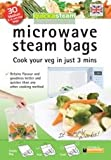 Quickasteam microwave cook bags