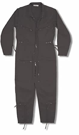 Continental Flight Suit / Boiler Suit (50, Black)